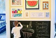 Crafty Kid's Rooms / Find inspiration for colorful rooms for crafting and fun with the whole family.