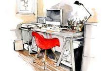 bocetos y dibujos decoración / ilustración, dibujos, pictures, decorations