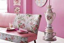 Decoración Rosa / pink deco / decoración en rosa, pink deco