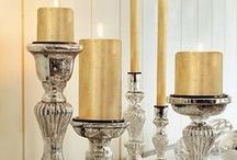 Decoration gold and silver / decoración dorado y plata / colors gold and silver, colores oro y plata