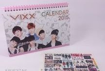 Korean Pop Star 2015 Desk Calendar
