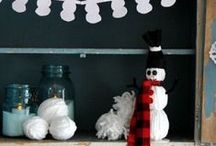 Kids Crafts for Winter / Fun and easy kid crafts for those winter snow days.