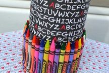 Teacher's Gifts / Get inspired by Crayola to create unique handmade gifts for your favorite teacher for Christmas and all year around.