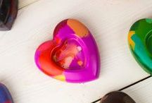 Kid Crafts for Valentine's Day / Share the love with these easy Valentine's Day crafts from Crayola!