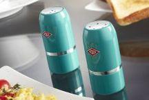 Wesco Salt & Pepper Shaker Set / Our Wesco Salt & Pepper Shaker Set will shake up your culinary skills! Now in 10 colours!  #wesco #shakeitup