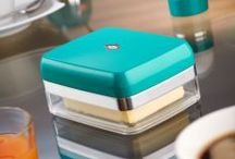 Wesco Butter Dish / Do let our fantastic Wesco Butter Dish butter you up! Stocked in 10 funky colours  #wesco