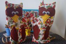 Coisinhas da Mamãe / Arte em tecido e couro