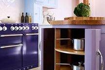 Colour of the week: Purple / From delicate lilacs to imperial plum, this week we're all about the versatile shade of purple in kitchens!