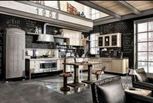 Industrial Style Kitchens / We've pinned the best industrial kitchen ideas and design for you!