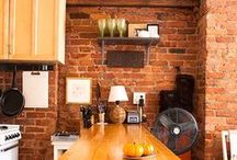 Style Trend: Exposed Brickwork Kitchens / Exposed Brickwork in Kitchens