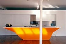 Colour of the week: Orange / Orange fell out of fashion for a little while, but with all things retro making a comeback, a splash of bright orange can be just what you need to liven up your kitchen!