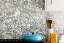Style Trend: Mosaic Backsplash / Intricate mosaic backsplashes to catch your eye!