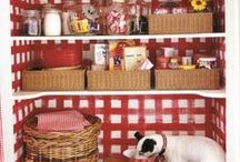 Colour of the week: Red / Bold, red kitchen inspiration!
