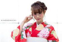 summer kimono 2016 by kyoto kimono machi / Summer kimono collection