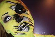 horror fantasy makeup