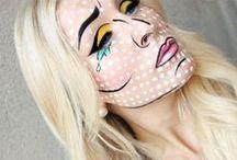 makeup comic