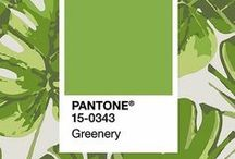 Greenery - colour of the year 2017 - Pantone 15-0343