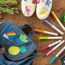Summer Maker Series Crafts / Crayola is ready for summer with a selection of DIY craft activities for kids that are inspired by beloved summer camp activities!