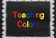 Teaching Colors / Learning colors. Easier said than done with certain immature little kiddos. I find the best way to teach colors is to teach other skills along with it like: pattern sentences, hfws, sorting, letters, vocabulary. www.kindergartencorps.blogspot.com