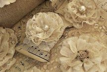 Fabric flowers / Things to make / by Cynthia Cowdrey