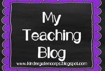 Kindergarten Blog / A Kindergarten blog for back to school basics, classroom management, literacy centers, teaching tips and much more. Plus, free printables not available anywhere else.  www.kindergartencorps.blogspot.com