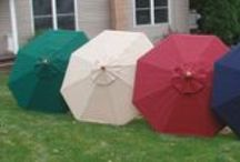 Market Umbrellas / Versatile and durable  - great for any outdoor occasion in the back yard, patio, or deck.