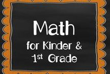Math for K1 / Subitizing Activities, Place Value, Number bonds, Fact Families, Addition and Subtraction, Number Sense Fluency, 100 Hundred Chart Knowledge, Geometry, Creative Math Activities ... all for my First Grade and Kindergarten Combo class!