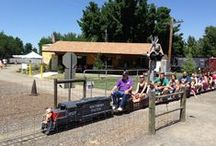 Railroad Park - Medford / Medford's Railroad Park is a fun place for any train enthusiast of any age.  Take a ride on the park's own mini locomotive or browse through the detailed collection of miniatures.  The experience is worth the ride!
