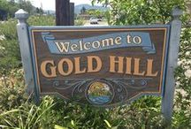 Gold Hill / Beautiful Gold Hill Oregon, home the the Oregon Vortex's House of Mysteries, where guests are baffled by the strange occurrences and feats beyond the laws of physics.  This quiet town is also  location to the scenic Rogue River and an easy-going neighborhood lifestyle.
