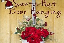 Crafts 2S- Holiday Decor / Variety of different wreath styles, topiary & decorative  trees for Christmas / by Tina Marie