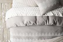 Bedding: classic and luxurious / Soft glamour - Gracefully masculine - Romantic elegance - Timeless