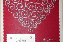 Rocznica slubu, wedding anniversary - stiching cards, haft matematyczny, izonit / Cards made by stitching card (izonit) technique.
