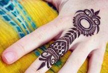 Henna - Design / Ideensammlung - HennaTattoos