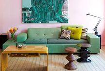 The Mid-Century Modern Living Room
