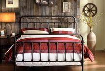 The Rustic Elegant Bedroom