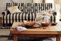 The Rustic Elegant Living Room