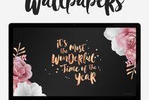 Wallpapers/Icon/Photo Stock / Una raccolta di Wallpapers tutta da guardare e da cui prendere meravigliosi spunti. La mia creatività non si riposa mai