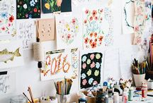 CRAFTS STUDIO / Inspo & organization tips