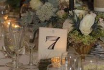 Wedding Day Stationary / custom menus, table numbers, escort cards, and signage to coordinate with your event