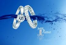 Engagement Rings / Featuring a classic channel diamond engagement ring