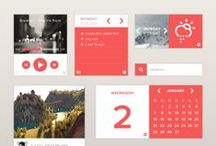 03 • Screen Design / clean, information and grid based layouts