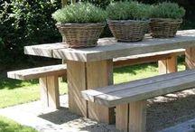 Mooi van (steiger) hout... / Mooie meubels, opberg ideeën of decoratie van steiger-, sloop- of pallet hout.
