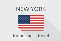 New York for business travel / New York City is one of the most famous hot spots on the globe and known for it's business affiliation. Find here some tips and tricks for business travel in New York!