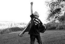 Superheros! / Héroes cotidianos del día a día. Todos podemos ser superhéroes.