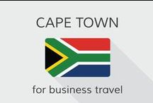 Cape Town for business travel / South Africa's second largest city #CapeTown is developing as an ideal business travel destination with the growth of industries like technology, winemaking, tourism and shipping.