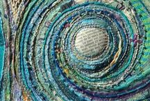 yarn art / textile based, be it yarn or others, works of art (in my humble opinion)