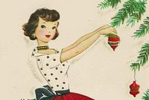 Vintage Christmas / Wishing you a very merry, very vintage, Christmas with tons of family, food and fun!