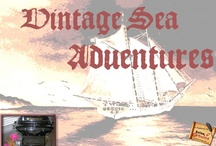 Grandpa's Books / Historical fiction manuscripts published beginning 2012 describing sea adventures and mis-adventures in exploration in the late 19th century and early 20th century European and New World settings along with a western romance ebook.