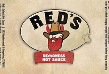 Hot Sauces / by Red's Texas