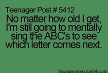 Teenage posts / Lol